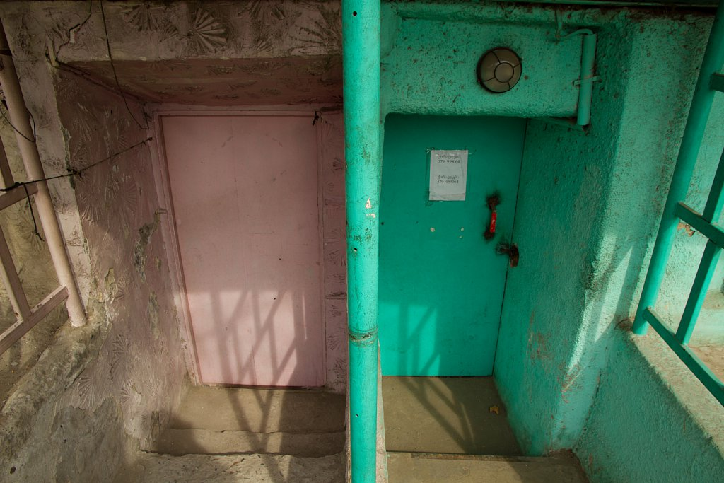 Pink Door, Green Door, Tiblisi