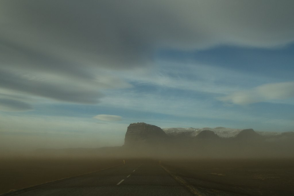 Dust Storm, Iceland