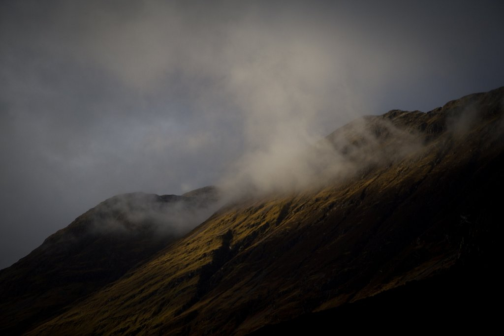Cloud, Scotland